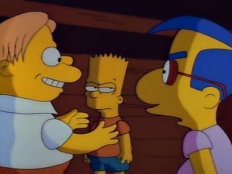 The Simpsons 02x21 : Three Men and a Comic Book- Seriesaddict